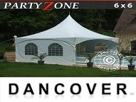 Buy Marquee 6x6 m PVC