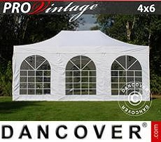 Marquees 4x8 m PVC Grey/White - Sale of Marquees