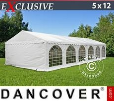 Marquees PLUS 4x8 m PE, grey/white - Sale of Marquees