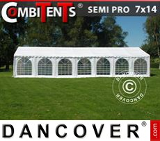Marquees PLUS 5x8 m PE, Grey/white - Sale of Marquees