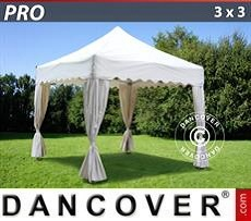 Marquees 5x10 m PVC, Grey / white - Sale of Marquees