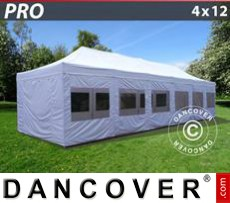 Marquees PLUS 5x10 m PE, grey/white - Sale of Marquees