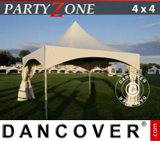 Marquees 5x12 m PVC grey/white - Sale of Marquees