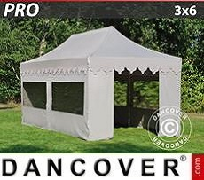 Marquees 6x6 m with panorama windows, white - Sale of Marquees