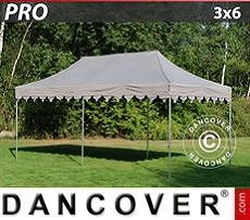 Marquees 6x6 m with panorama windows, black - Sale of Marquees