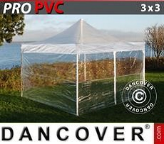 Marquees 6x8 m PVC grey/white - Sale of Marquees