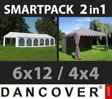 Marquees 6x10 m PVC - Sale of Marquees