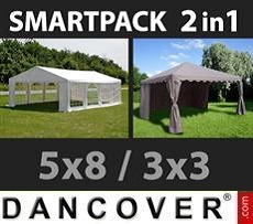 Marquees Semi PRO Plus 8x12 m PVC 2,6 m - Sale of Marquees