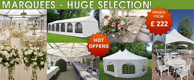 Marquee Rent - rental of party tents